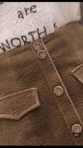8W Cotton spandex corduroy